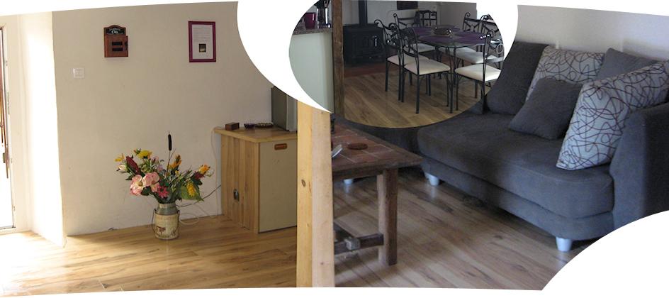 Location vacances maison Pereille: chambre 'parentale'
